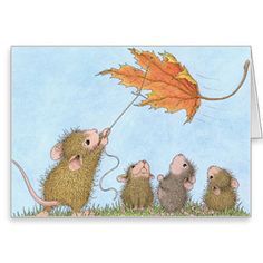 """""""8 Notecards  & 8 Envelopes"""", Stock #: N2016-9B, from House-Mouse Designs®. This item was recently purchased off from our web site. Click on the image to see more information."""