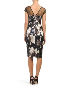 Midnight Magnolia Sheath Dress
