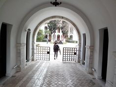 Byzantine museum on a sunny day