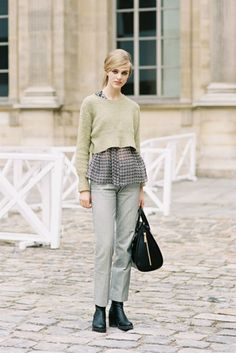 Model streetstyle: Hedvig Palm