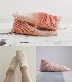 A little celebration of the Simple House Slippers and their 1 year anniversary - Temple of Knit
