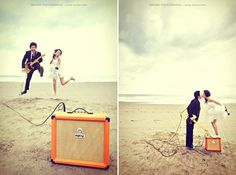 rock and roll engagement-shoot-inspirations