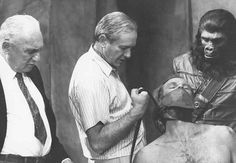 Archives Of The Apes: Apes On Set