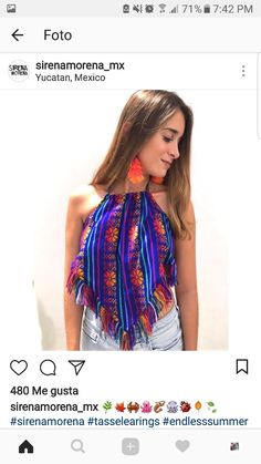 Source by mexicana Mexican Fashion, Mexican Outfit, Mexican Dresses, Fashion 2020, Diy Fashion, Fashion Outfits, Womens Fashion, Cool Girl Style, My Style