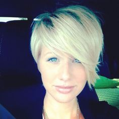 Funky short pixie haircut with long bangs ideas 101