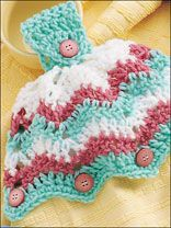 The Top Five Free Fun Crocheted Kitchen Towel Topper Patterns