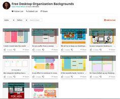 Free Desktop Organization Backgrounds! http://list.ly/list/MET-free-desktop-organization-backgrounds