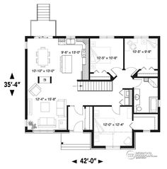 House plan W3154 detail from DrummondHousePlans.com