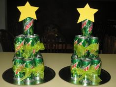 mt. dew tree or something. Funny gift for hubster. He he