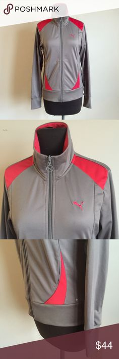 ❗️PUMA Athletic Jacket Grey & Coral MSRP $78 ❗️PUMA Athletic Track Jacket Grey & Coral Red. Retails $78. In great condition! Size medium. Make an offer! Selling to first offer--I consider all reasonable offers on individual items & give great bundle deals. New Year cleanout sale ;-) Puma Jackets & Coats