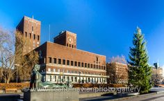 Oslo City Hall Rådhuset i Oslo Oslo, Norway, Mansions, House Styles, City, Travel, Home Decor, Mansion Houses, Homemade Home Decor
