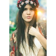 The Lady & Rock @The Lady & Rock  Model: Stacey Randol  Photography, Styling, Hair & MUA: The Lady & Rock Headpiece: Hair Jamz Inc.   #model #photography #gypsy #hair #makeup #styling #stylist #lights #fringe #freepeople #headpieces #shells #beach #floral #vintage #retro #earth #hairjamzinc