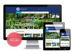 Nieuwe website Vijveronderhoud Natuurlijk schoon - gerealiseerd door Juli Ontwerpburo