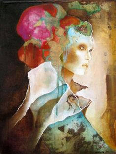 Paintings by Pascale Pratte