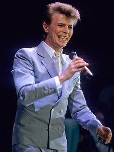 Bowie at Live Aid, 31 years ago today!