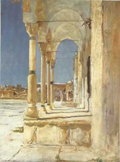 """Jerusalem,"" by John Singer Sargent, oil, 1905-06, 27 1/2 x 21 1/2 in. Private collection"