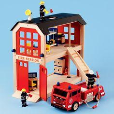 firehouse. A doll house for boys.