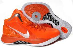 classic fit abb41 18f92 Nike Hyperdunk 2011 Orange Silver White