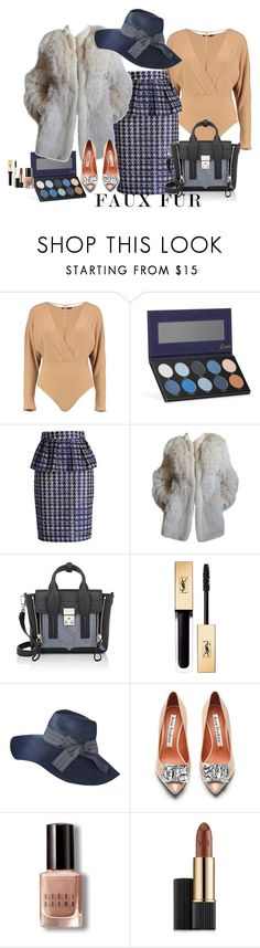 """""""Chic in the city"""" by claire86-c on Polyvore featuring moda, Boohoo, Luxie, Chicwish, Yves Saint Laurent, 3.1 Phillip Lim, Merona, Acne Studios, Bobbi Brown Cosmetics e Estée Lauder"""