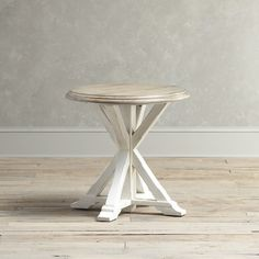 Found it at Joss & Main - Teresa End Table this would be a great thing if I go with coral