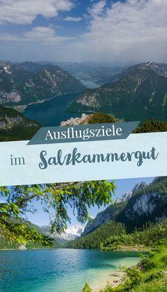 Ich habe mir die Region Dachstein-Salzkammergut ein bisschen genauer angeschaut und zeige dir jetzt meine Auswahl der schönsten Orte in der Natur und Sehenswürdigkeiten im Dachstein-Salzkammergut. #salzkammergut #österreich #natur #ausflugsziele #ausflugstipps Hiking Tours, Reisen In Europa, Austria Travel, Holiday Accommodation, Road Trip, Road 66, Places To Travel, Travel Inspiration, Beautiful Places