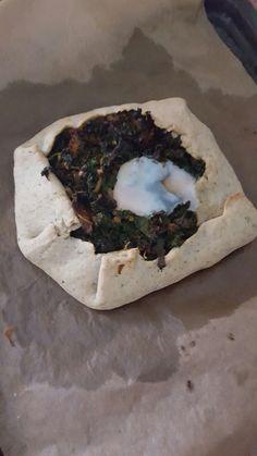 Burned kale
