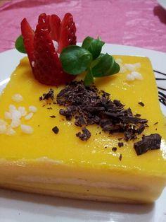 Semifrío de naranja - Tvcocina . Recetas de Cocina Gourmet Restaurantes Vinos Vídeos