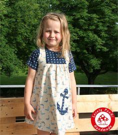 """Größen 62/68 – 134/140  """"Kleine Maid"""" ist aus dehnbaren Stoffen nähbar, wie Jersey und Sweat,  Wochennährückblick mit Besonderheiten – Lovely PauNi Blog"""