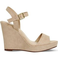OFFICE Mai Tai suede wedge sandals