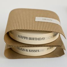 at home: butcher's paper & sisal twine - Marianna Riley Paper Packaging, Gift Packaging, Design Packaging, Custom Stationery, Stationery Design, Masking Tape, Washi Tape, Sisal Twine, Genius Ideas