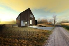 Casa de madera - Ondrej and Josef Chybik Architects