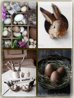 K.E. 20022016 pasen Collages, Coloring Easter Eggs, Easter Holidays, Spring Blooms, Easter Crafts, Happy Easter, Spring Time, Diy, Inspiration