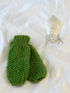Green Baby Legwarmers
