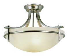 Bel Air Lighting 8172 BN 3-Light Semi Flush Mount Bel Air Lighting http://www.amazon.com/dp/B001YRK1NO/ref=cm_sw_r_pi_dp_Pyxmwb020VDQK
