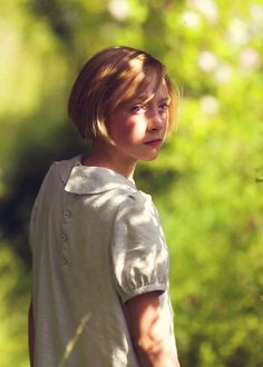 Saoirse Ronan, Briony Tallis (aged 13) - Atonment (2007) #joewright #ianmcewan