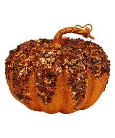 Loving this 5'' Short Chunky Pumpkin Décor on #zulily! #zulilyfinds