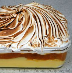 SOBREMESA DE BANANA - parece a torta da minha mãe