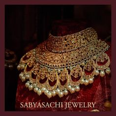 "39.1k Likes, 157 Comments - Sabyasachi Mukherjee (@sabyasachiofficial) on Instagram: ""The quintessential Sabyasachi Bridal Jewelry crafted in 22k gold with uncut diamonds and South Sea…"""