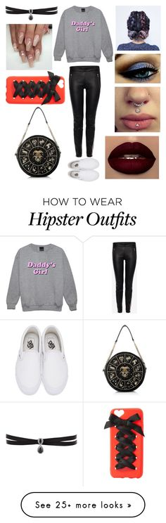 """""""Untitled #735"""" by ladytaurus-queengrizzly on Polyvore featuring Alexander McQueen, Vans, Fallon and Charlotte Russe"""