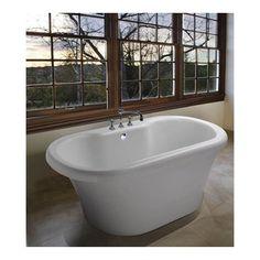 freestanding tub with faucet deck. MTI Melinda 8 Tub  66 5 x 35 23 Freestanding tub with deck mount faucet Our Work Pinterest