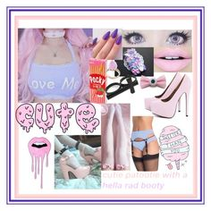 """""""Pastel dreamy """" by kawaiireborn ❤ liked on Polyvore featuring Fiebiger, Samsung, sOUP, AX Paris, Ted Baker, women's clothing, women's fashion, women, female and woman"""