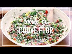 Tabule de Couve Flor - Temperando Comidas Light, Diet Recipes, Vegan Recipes, Healthy Tips, Paleo, Carne, Good Food, Food And Drink, Low Carb