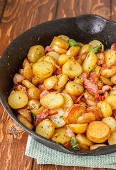 Un succès garanti...Voici les pommes de terre grelots et bacon. - Recettes…