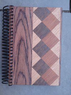 Caderno Marchetaria  Notebook Marquetry