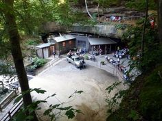 Rattlesnake Saloon 2 - There's No Restaurant In The World Like This One In Alabama (It's in a cave)