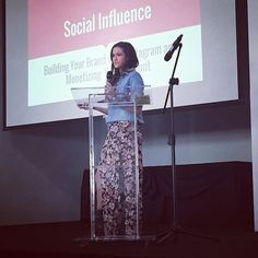 Excited to hear about #socialinfluence from a woman who lives it daily! Great perspective @jadelizroper - welcome to #KC #goblogsocial #keynote #jadelizroper #thebachelor #hellokc