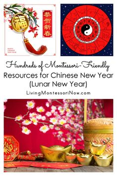 Hundreds of resources that can be used for creating Montessori-inspired Chinese New Year (Lunar New Year) activities and celebrations; perfect for observing the Lunar New Year for a variety of ages in the classroom or at home - Living Montessori Now Preschool Themes, Montessori Activities, Montessori Homeschool, Preschool Kindergarten, Homeschool Curriculum, Chinese New Year Activities, New Years Activities, Activities For Kids, Winter Activities