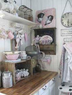 arredamento casa al mare in stile shabby chic - mobile da bagno ... - Arredamento Shabby Al Mare