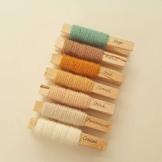 Sorry about the shocking quality! The light was dreadful today and I was in a bit of a rush to get to the post office Here is the Neutrals Yarn pack (see previous posts) with sage. Xx