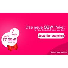 So sehen die neuen Werbeanzeigen für Schildknecht und Siebens`s neuem SSW Paket für werdende Mama´s aus.